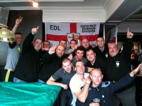 EDL in Blackpool, May 2011